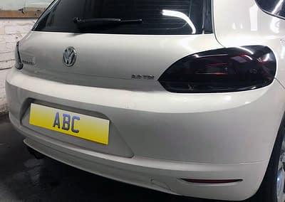 Volkswagen Scirocco - With Dark Rear Light Tints