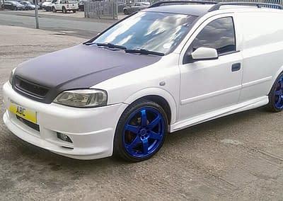 Vauxhall Astra LS TD - Bonnet-Rap