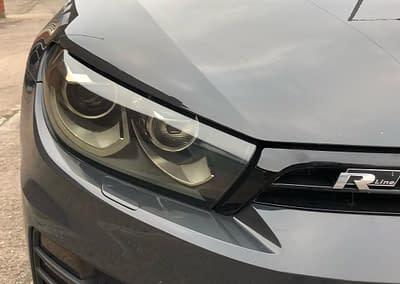 Volkswagen Scirocco With Headlight Tints