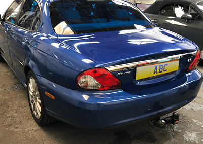 Jaguar X-Type In For Some Blue Tints (35%)