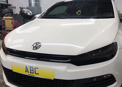 Volkswagen Scirocco - With Dark Headlight Tints